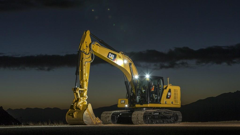 Caterpillar Introduces Three Next Generation Excavators