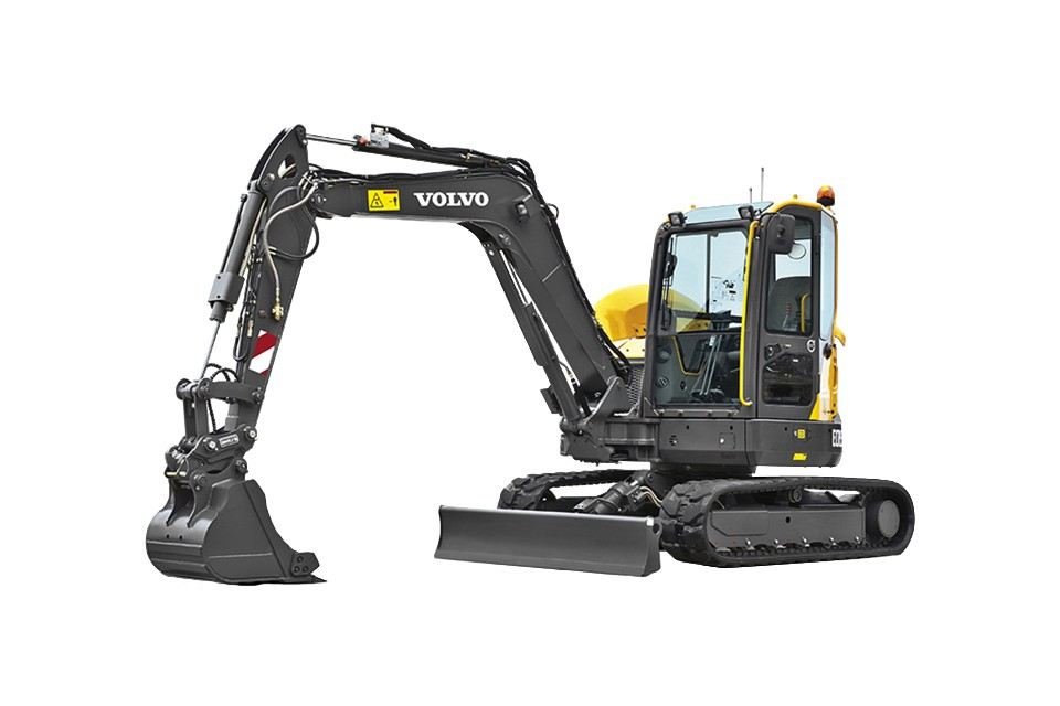 Volvo Construction Equipment - ECR58D Compact Excavators
