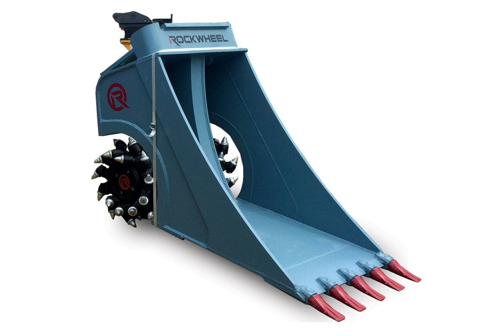 Alpine Sales & Rental Corp. - RockWheel Cutter Bucket Excavator Buckets