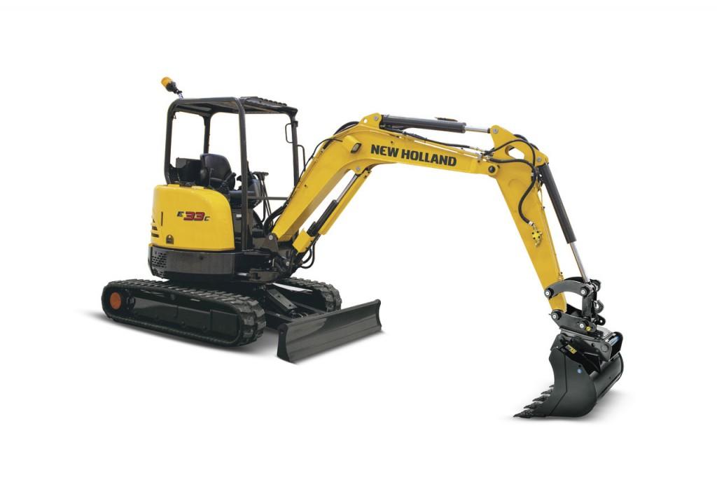 New Holland - E33C Compact Excavators
