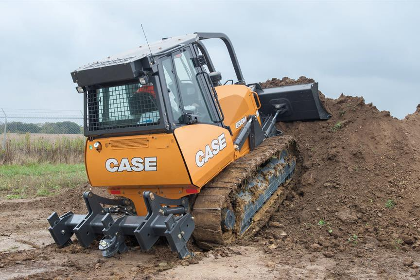 Case Construction Equipment - 650M Crawler Dozers