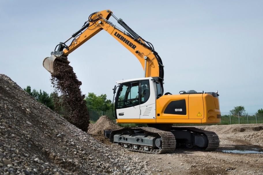 Liebherr Canada - R 918 Litronic Excavators