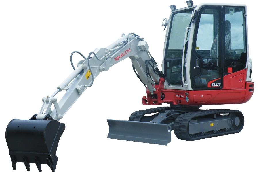 John Deere Construction & Forestry - TB230 Compact Excavators