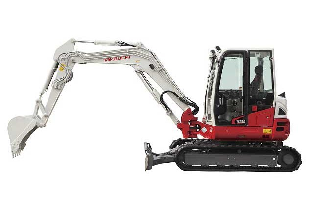 Takeuchi - TB260 Compact Excavators