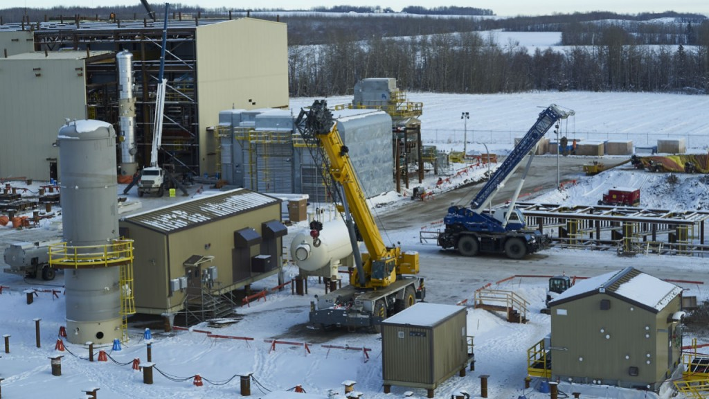 Dawson Creek sweet gas plants completed ahead of schedule
