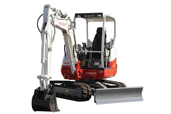 Takeuchi - TB235-2 Compact Excavators