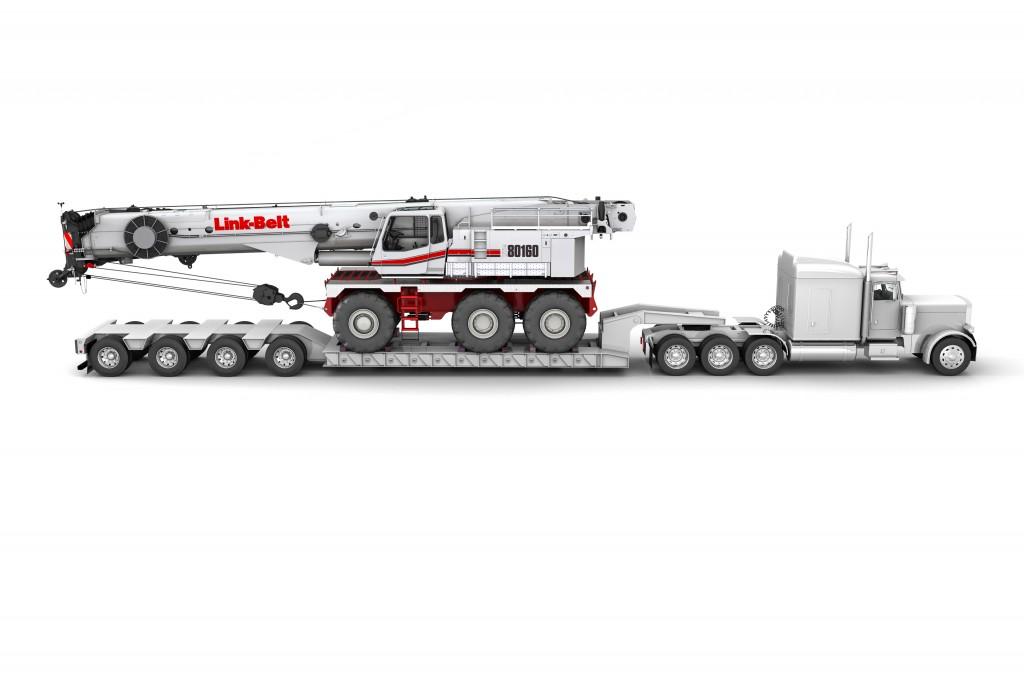 Link-Belt Construction Equipment Company - RTC-80160 Series II Rough Terrain Cranes