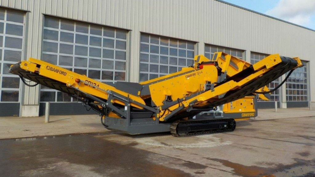 Barford Equipment to bring track mounted screeners into US market for 2018