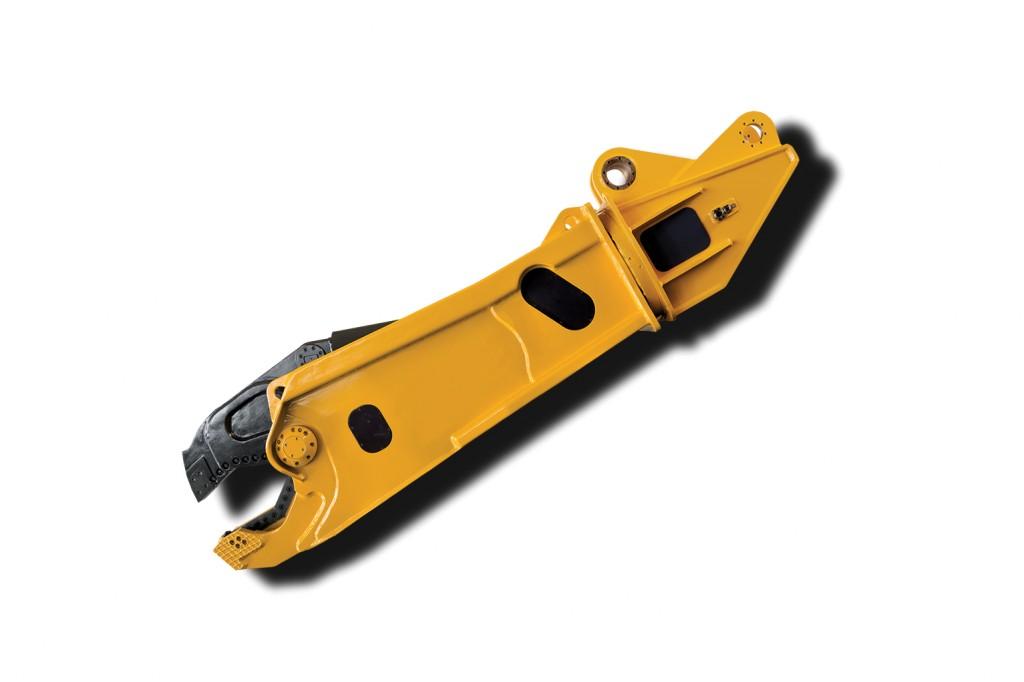 Indeco North America - ISS shears range Hydraulic Scrap Shears