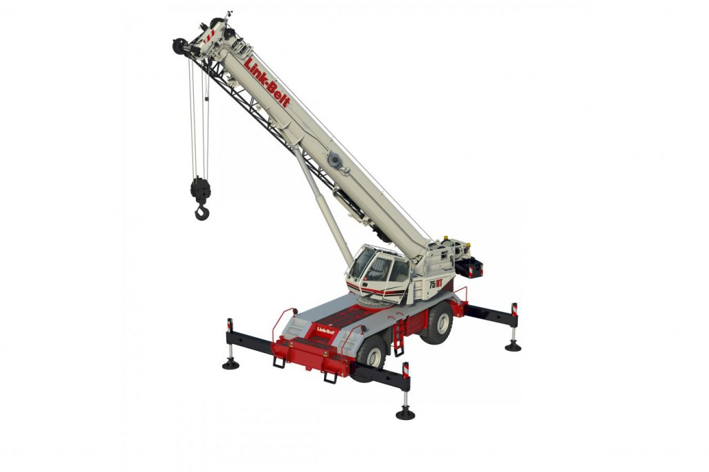 Link-Belt Construction Equipment Company - 75RT Rough Terrain Cranes