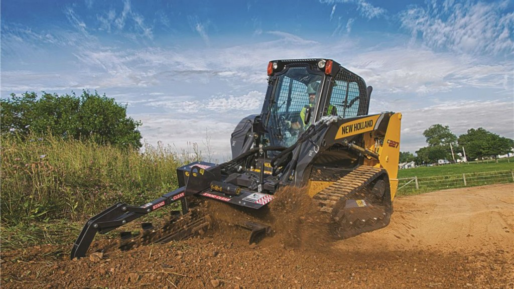 New Holland updates warranty on SuperBoom skid steers and track loaders