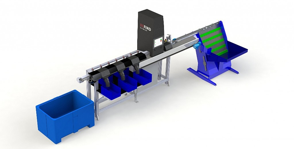 Refind to install latest OBS500 optical battery sorter in Norway