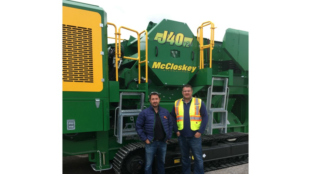 McCloskey adds Bison Iron to distribution network