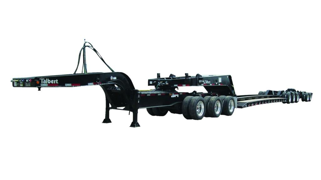 Versatile 60-ton spread-axle trailer
