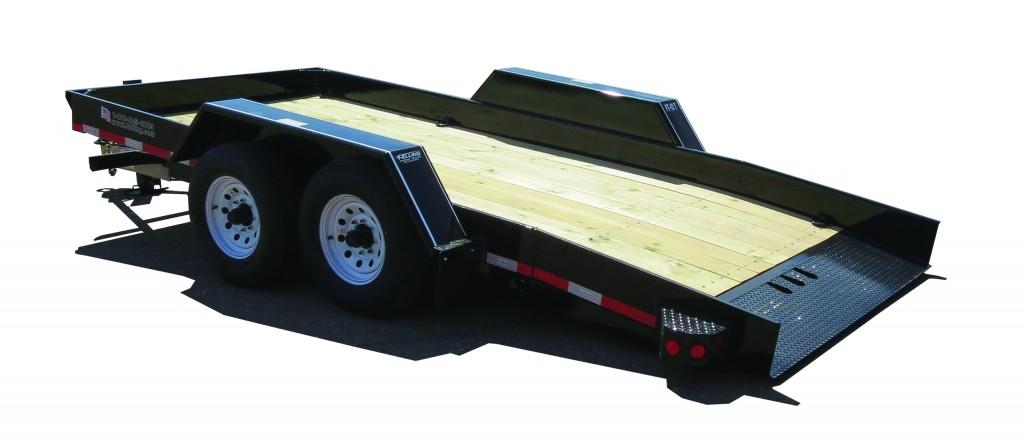 FT-12 16-foot Pan Tilt Utility Trailer (Standard Model).