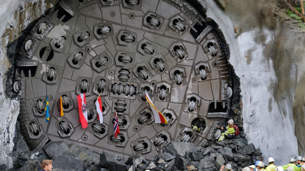 Herrenknecht TBMs push through hard Norwegian rock on tunnel projects