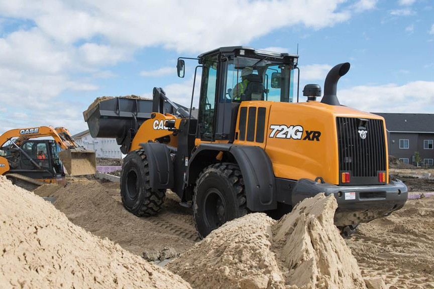 Case Construction Equipment - 721G Wheel Loaders