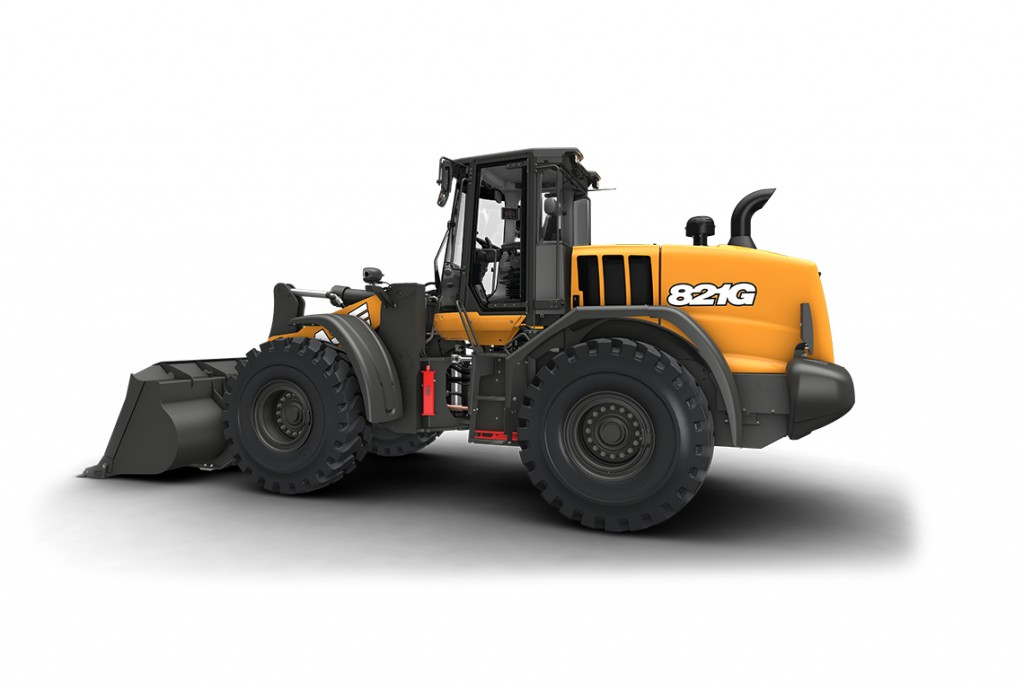 CASE Construction Equipment - 821G Wheel Loaders