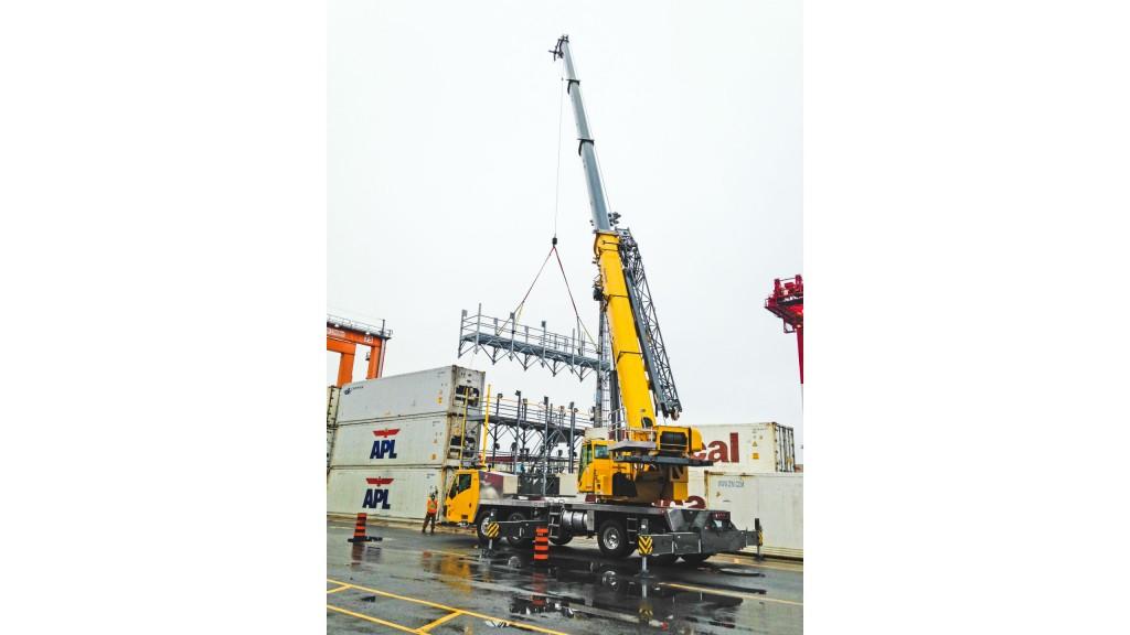 Nova Scotia company puts Canada's first Grove TMS9000-2 to work