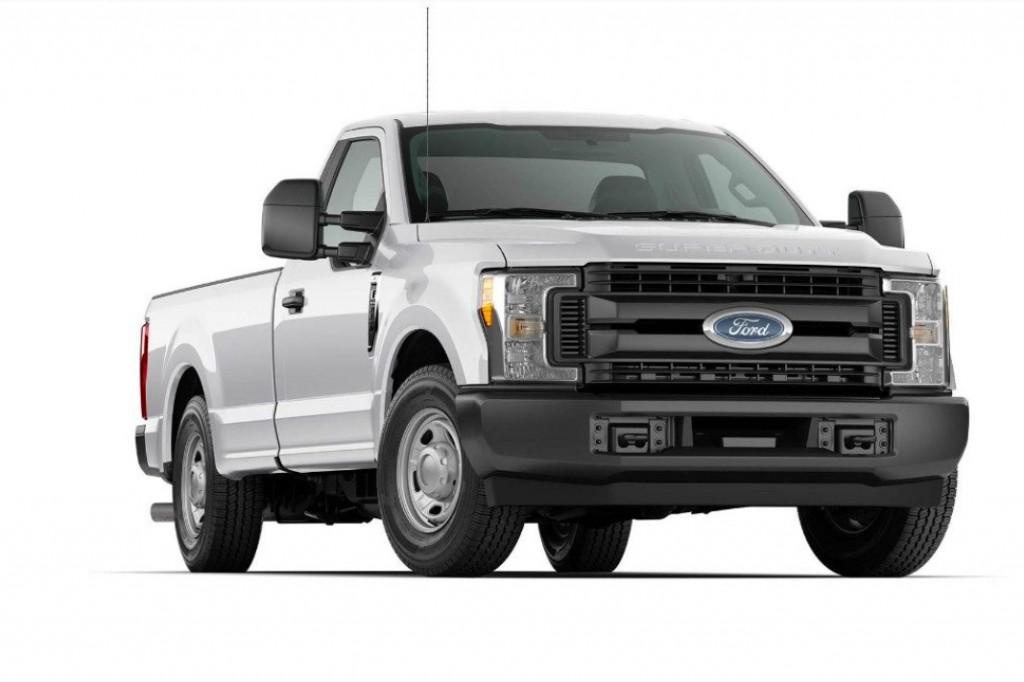 Ford Motor Company - 2018 Super Duty F-350 XL Pickup Trucks