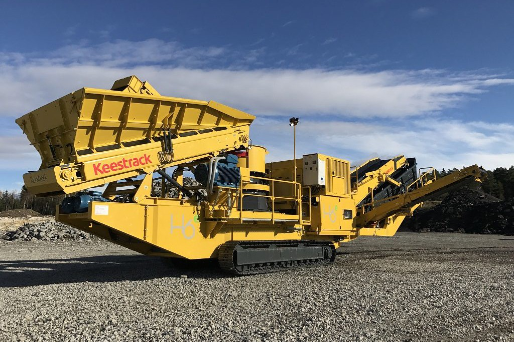 Keestrack - H6 Track Mounted Cone Crushers