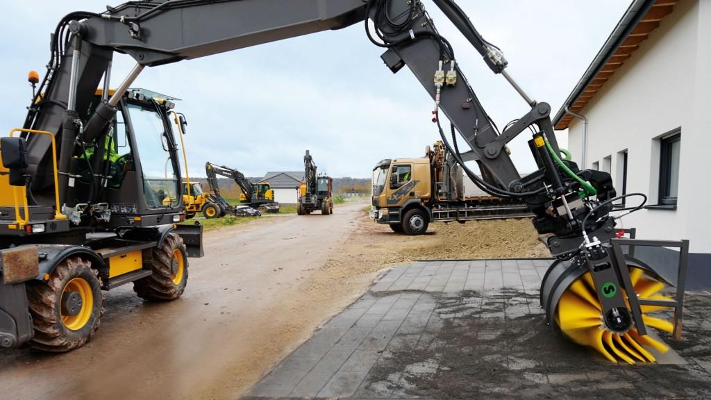 Excavators are increasingly used as more versatile tool carriers.