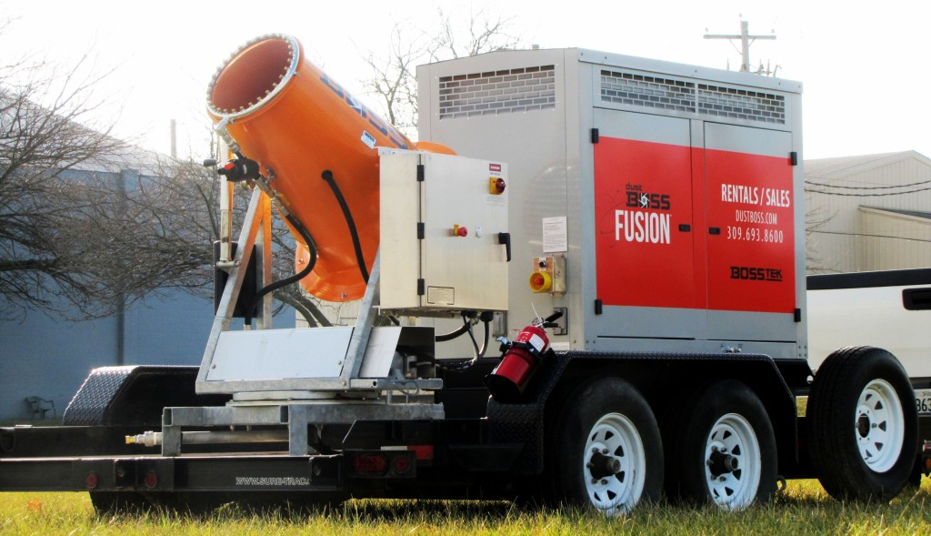 The DB-30 Fusion is a versatile and mobile atomized mist solution from BossTek.
