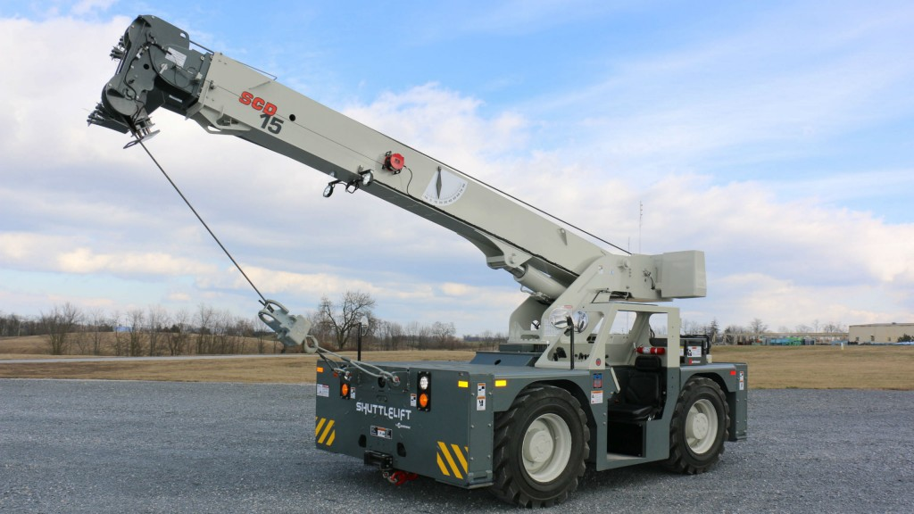 The Manitowoc Shuttlelift SCD15 will be on display at The Rental Show 2018 in New Orleans.