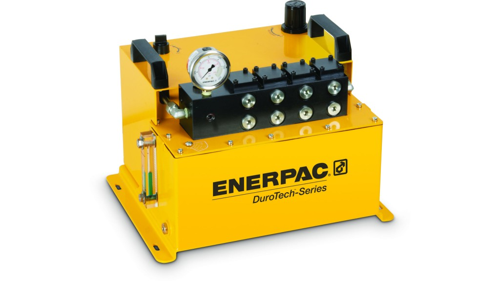 Enerpac introduces air-driven hydraulic power unit for industrial uses
