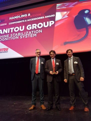 Manitou earned the Equipment and Material prize in the Components and Attachments category at the Intermat Innovation Awards.