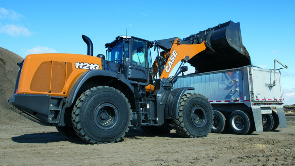 The G Series is the most recent in Case's 60-year history of producing wheel loaders.