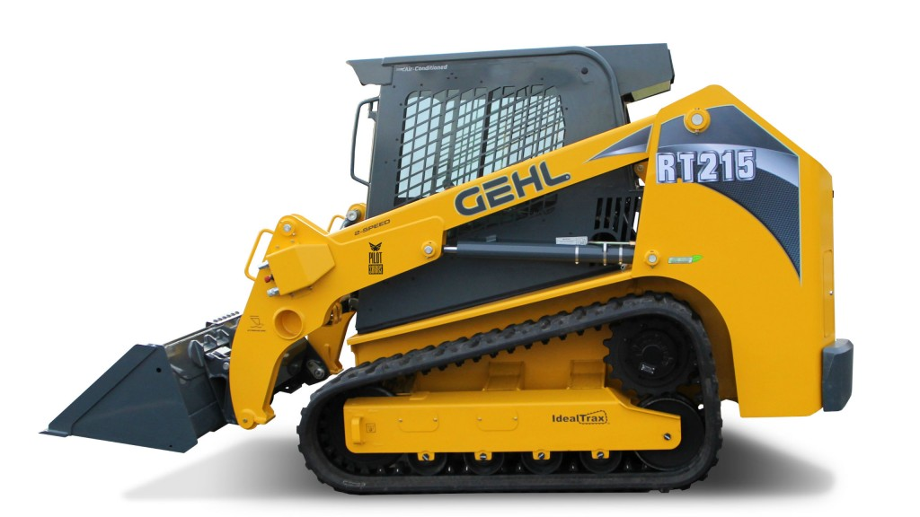 Gehl Pilot Series track loaders feature pilot-operated ... on