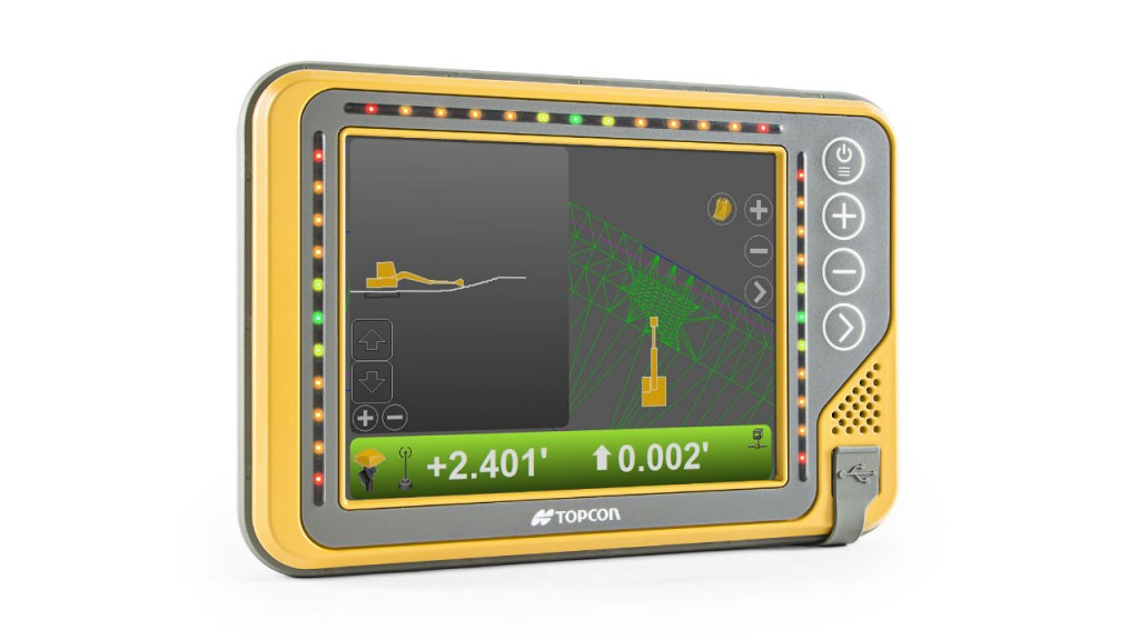 Topcon has introduced the new X-53x machine control system.