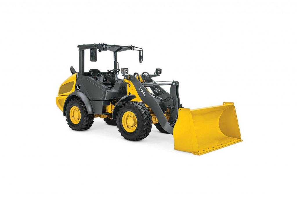 John Deere Construction & Forestry - 204L Compact Wheel Loaders
