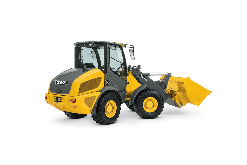 John Deere Construction & Forestry - 304L Compact Wheel Loaders
