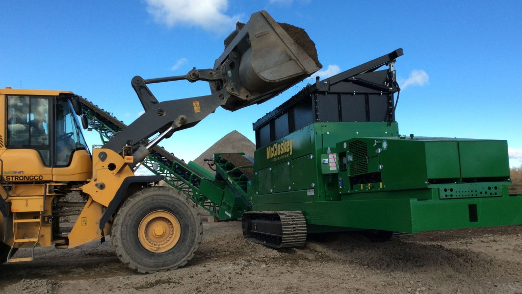 The UF1200 universal feeder from McCloskey is powerful and reliable.