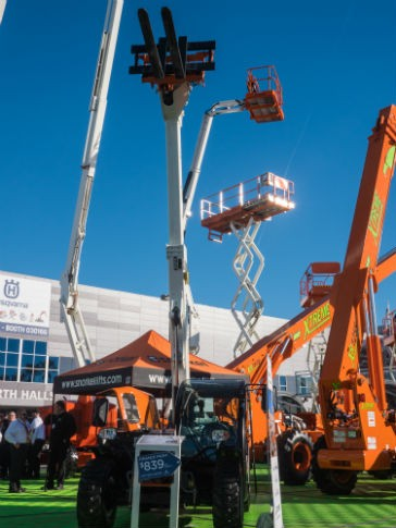 The Snorkel SR5719 compact telehandler was introduced at World of Concrete.