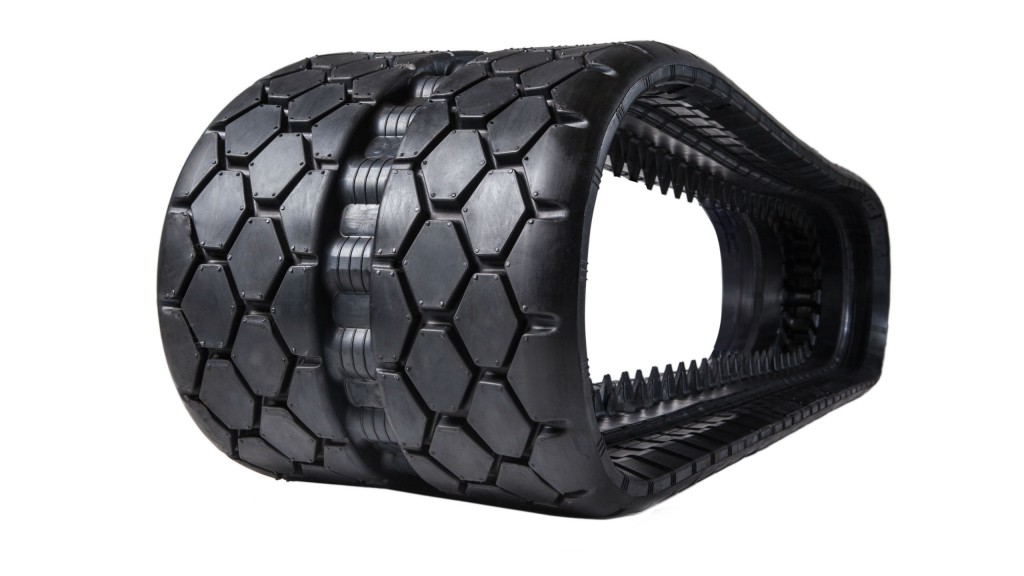 EarthForce Hex rubber tracks come in 13 sizes.