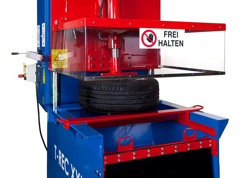 SEDA T-REC XXL latest in tire recycling technology available from ELV Select