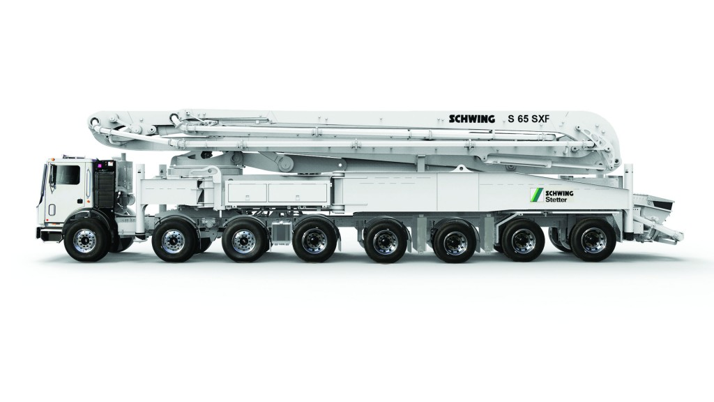 Schwing's new flagship model for 2018 features company's longest boom