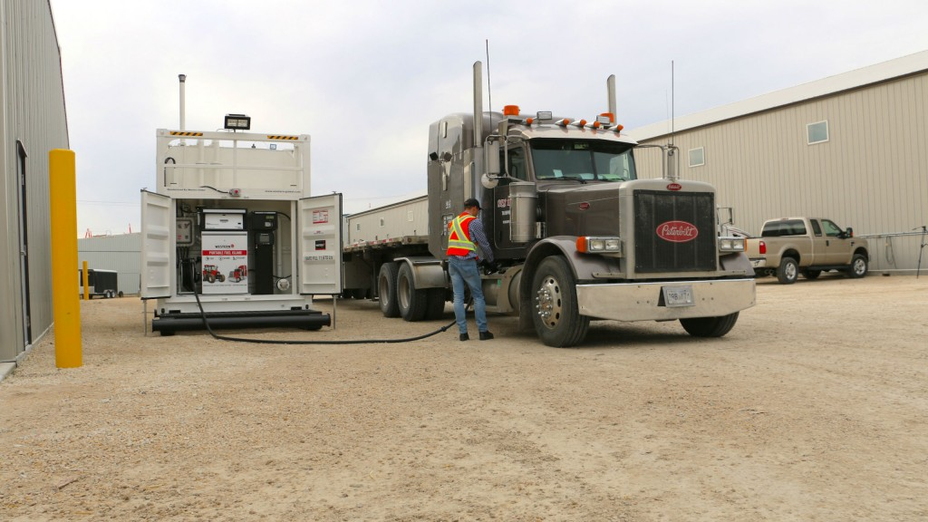 Western Global's Fuel Island features integrated, cloud-based remote monitoring equipment for accurate tracking of fuel consumption.