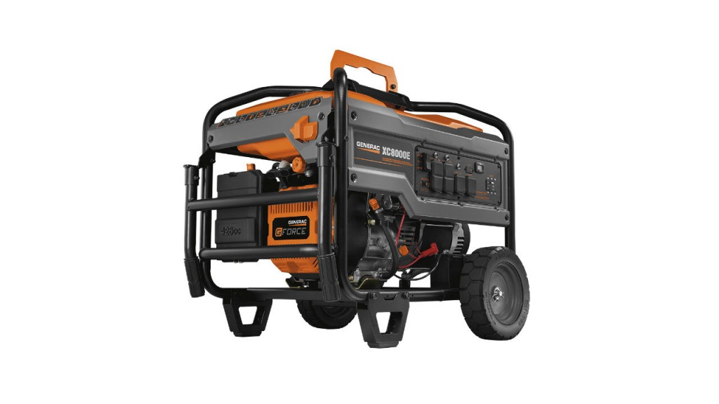 The Generac XC8000E portable generator will be on display at The Rental Show.