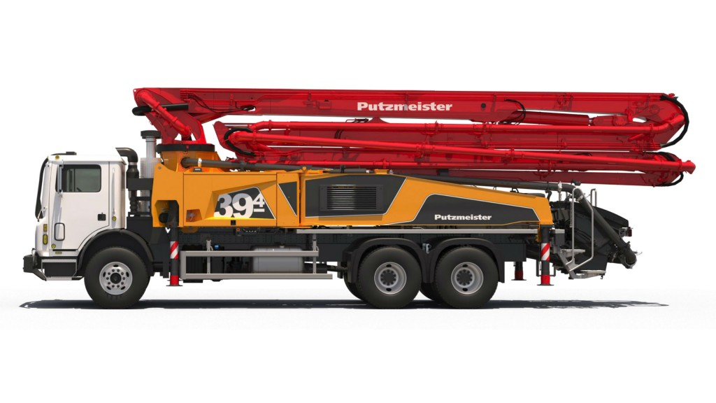 Putzmeister is introducing the 39Z-Meter Multi Truck-Mounted Concrete Boom Pump this year.