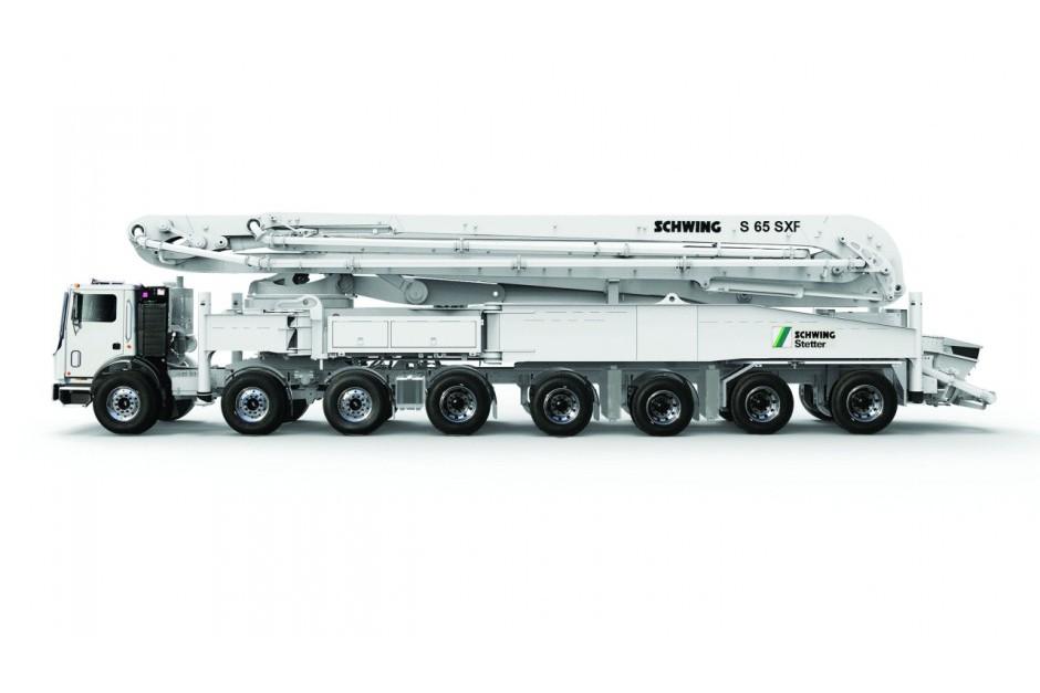 Schwing America, Inc. - S 65 SXF Concrete Pump Trucks