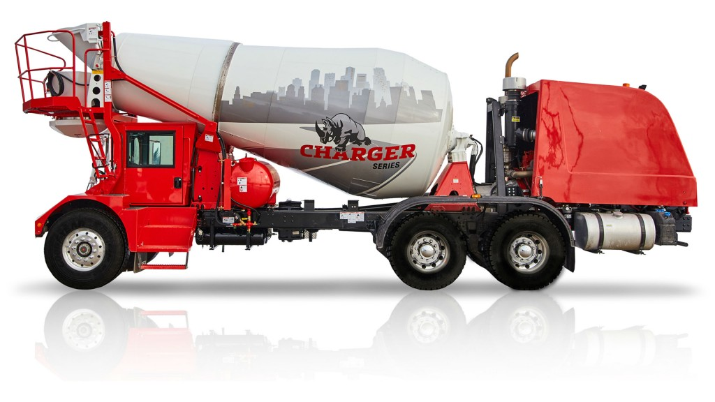 The Terex Advance Charger FDC300 front discharge mixer.
