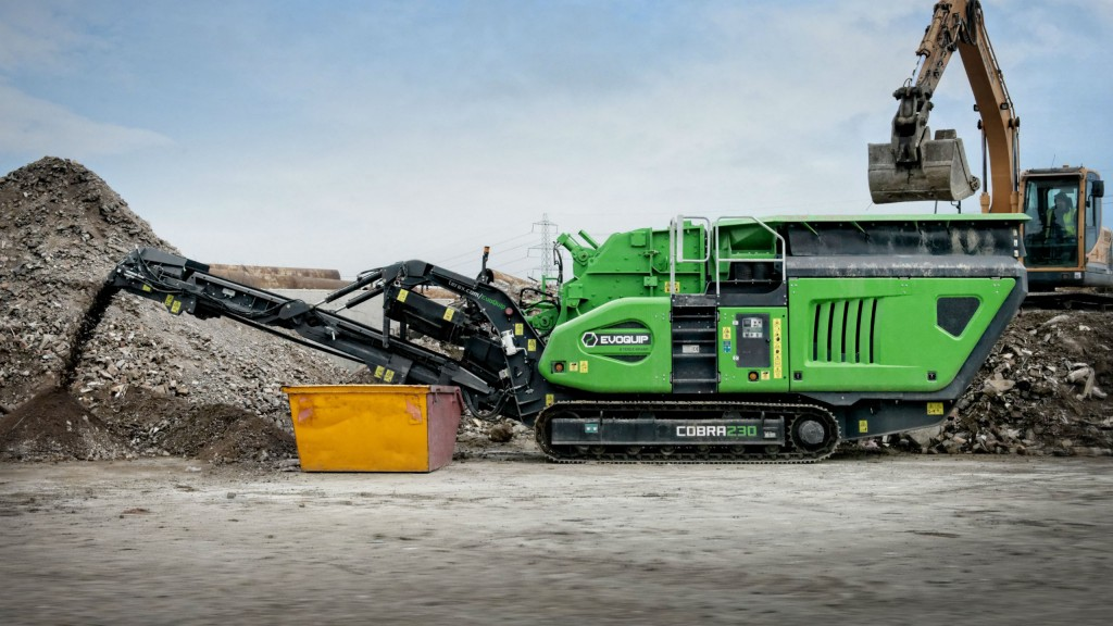 EvoQuip shows new Cobra 230 impact crusher at World of Asphalt