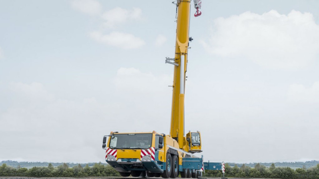 Terex Cranes receives order for four DEMAG all terrain cranes from Cropac Equipment