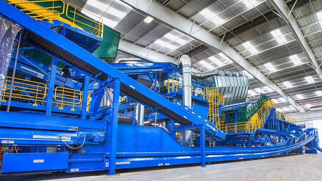 Monterey's new facility uses BHS recycling system to support compliance with California's 75% recycling goal
