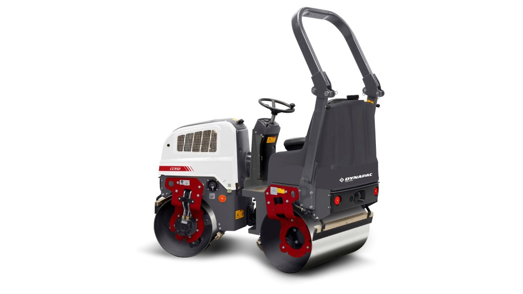 The Dynapac small tandem asphalt roller will be featured at The Rental Show and World of Asphalt.