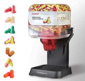 Earplug dispenser from Howard Leight brings better hearing protection to employees